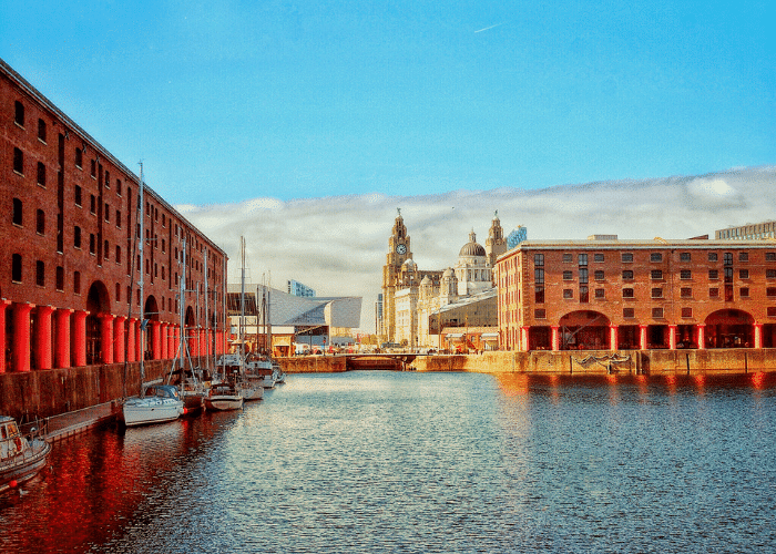 Royal Albert Dock Liverpool Insta Walking Tour