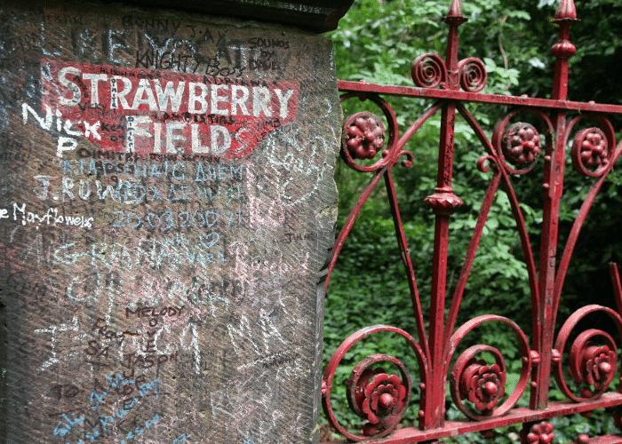 Strawberry Field Beatles Liverpool