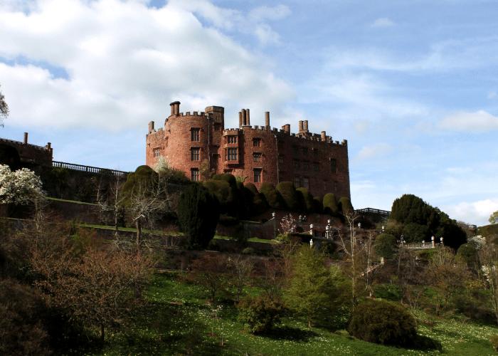 Powis Castle North Wales